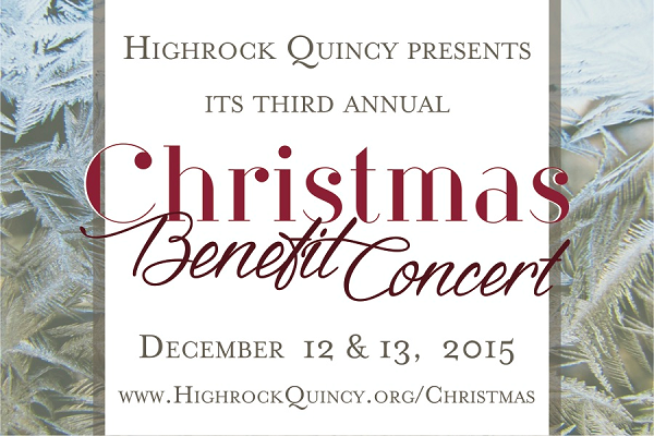 benefit concert, christmas concert, highrock