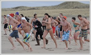 Polar Plunge, Key Club, Duxbury, Rexhame beach