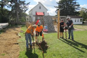 South Shore, Shelter, volunteers, Norwell Kids, Norwell Children, fence, project
