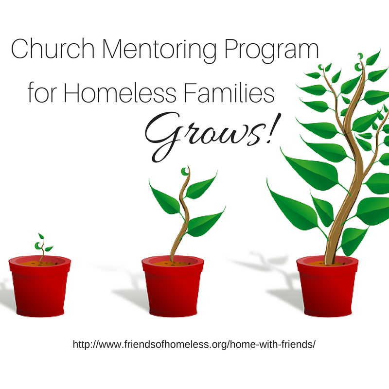 home with friends, mentor program grows